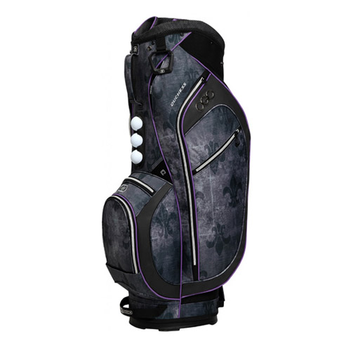 New Ogio Duchess Ladies Cart Bag - Fleur De Lis / Purple