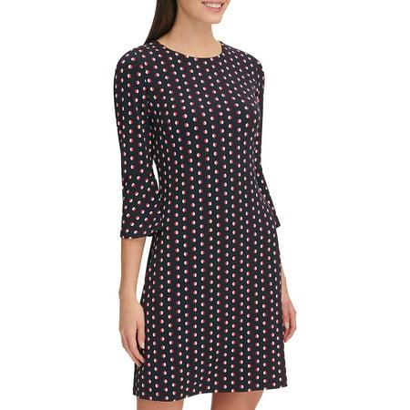 Best Remedy Dot Jersey Bell-Sleeve Dress deal