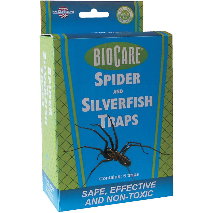 BioCare Spider and Silverfish Traps, 6 Count