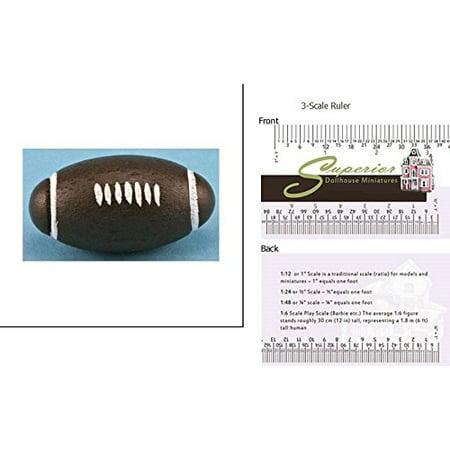 International Miniatures Dollhouse Miniature Football - image 1 de 1