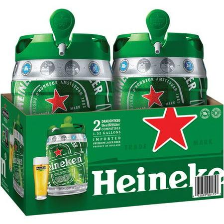 Heineken Lager, 5L Mini Keg