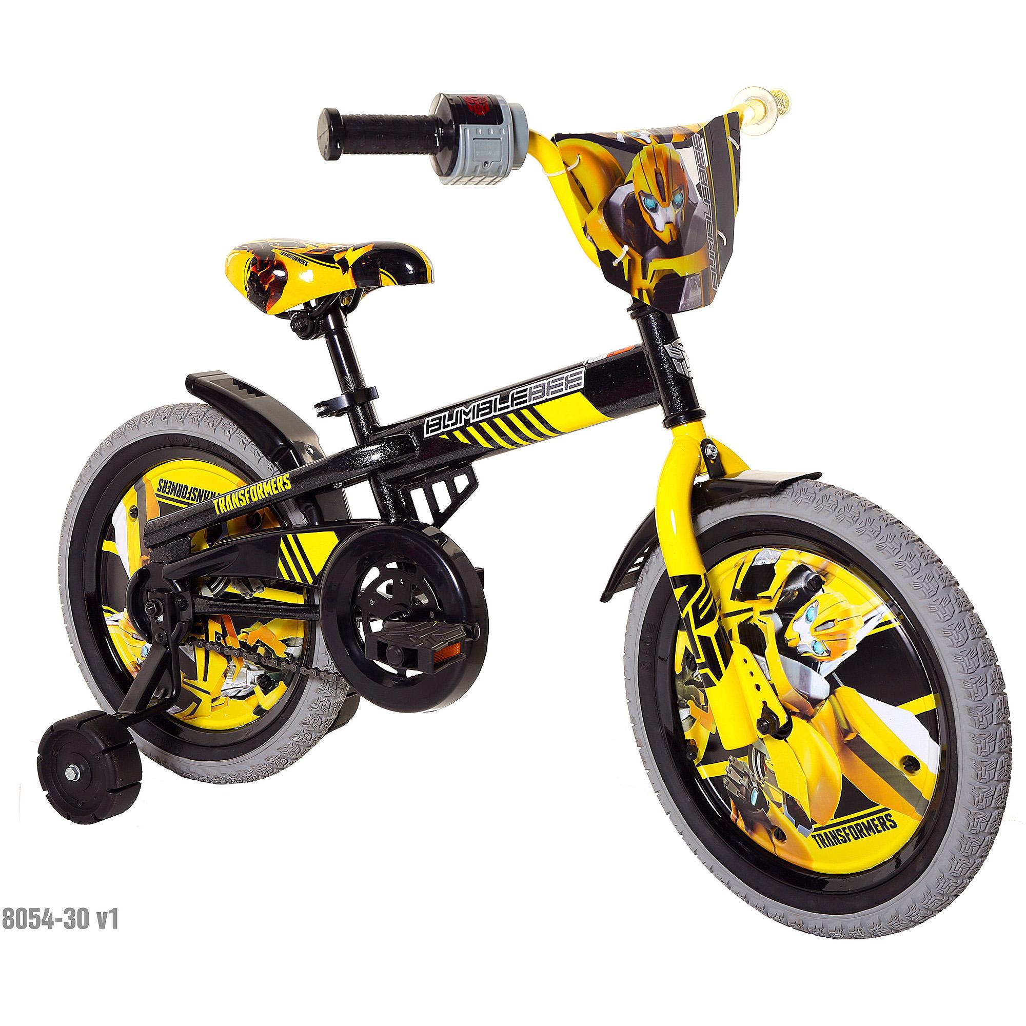 "Transformers Bumblebee 16"" Bicycle"