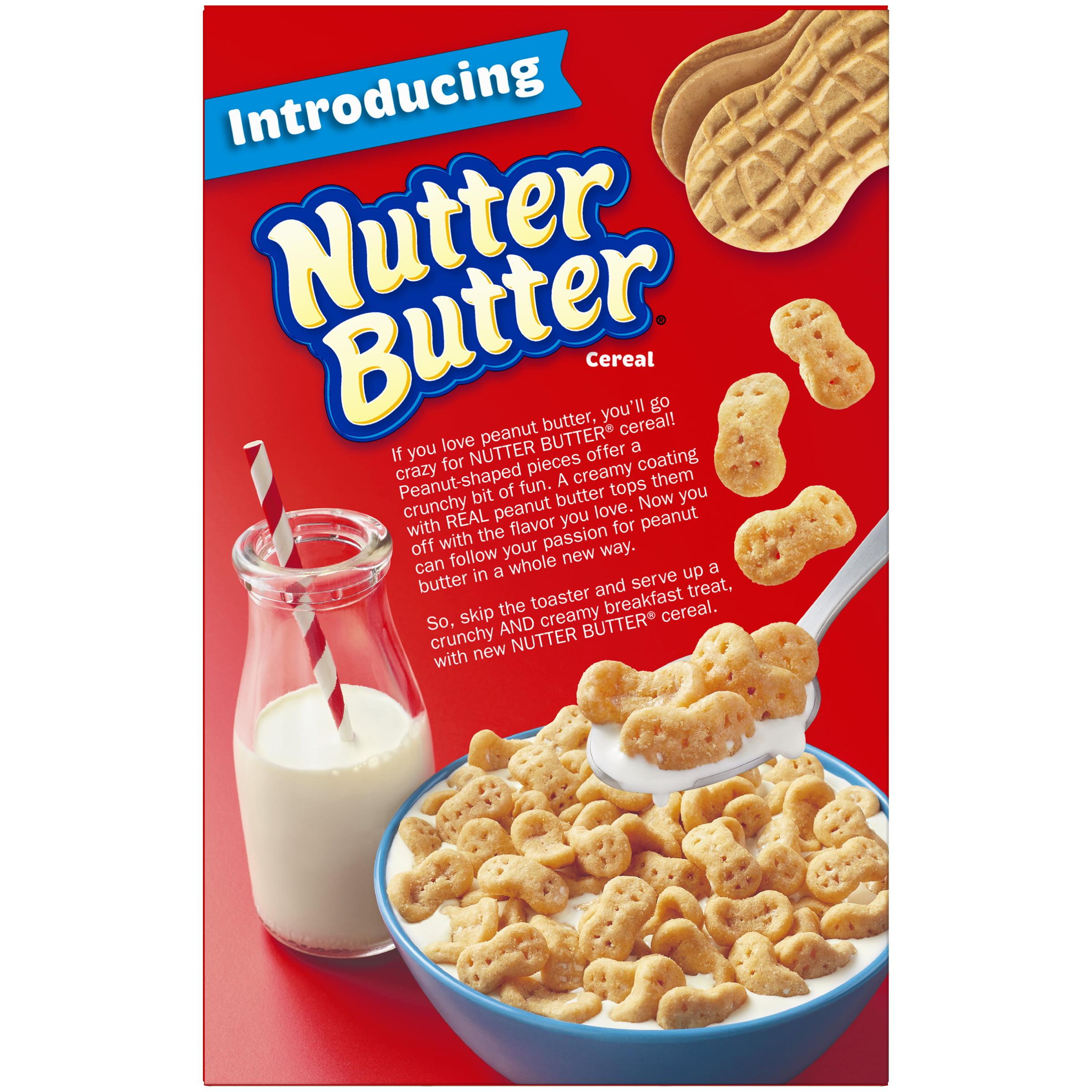 Post nutter butter breakfast cereal peanut butter 19 oz walmart ccuart Images