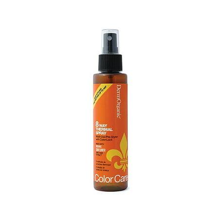 DermOrganic Color Care 8 Way Thermal Spray, 4 oz. 4 Way Spray