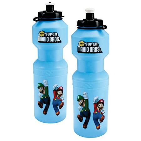 Super Mario Bros Party Supplies - Water Bottle (1)