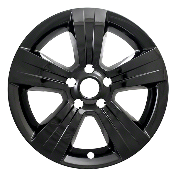 Coast To Coast International IWCIMP373BLK Wheel Cover IMPOSTOR (R) 17 Inch; 5 Spoke; Gloss Black; Plastic; Set Of 4; Not Compatible With Steel Wheels - image 1 de 1