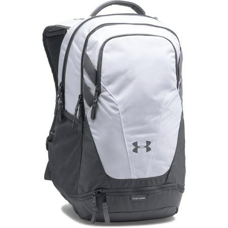 - Under Armour Hustle II Storm Laptop Backpack White/Black