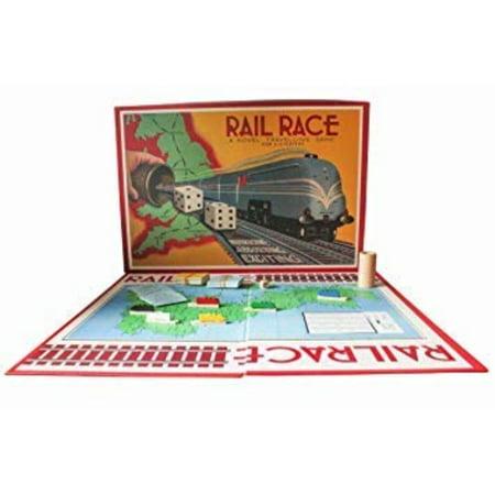 Rail Race Game covid 19 (Rails Board Game coronavirus)
