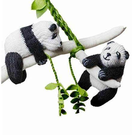 Panda Crib Mobile - Baby Toy Panda Nursery Decoration - Babby Panda
