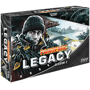 Pandemic: Legacy Season 2 Strategy Board Game (Black Edition)