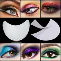 50 Pcs Eyeshadow Shields Professional Lint Free Under Eye Eyeshadow Gel Pad Pat