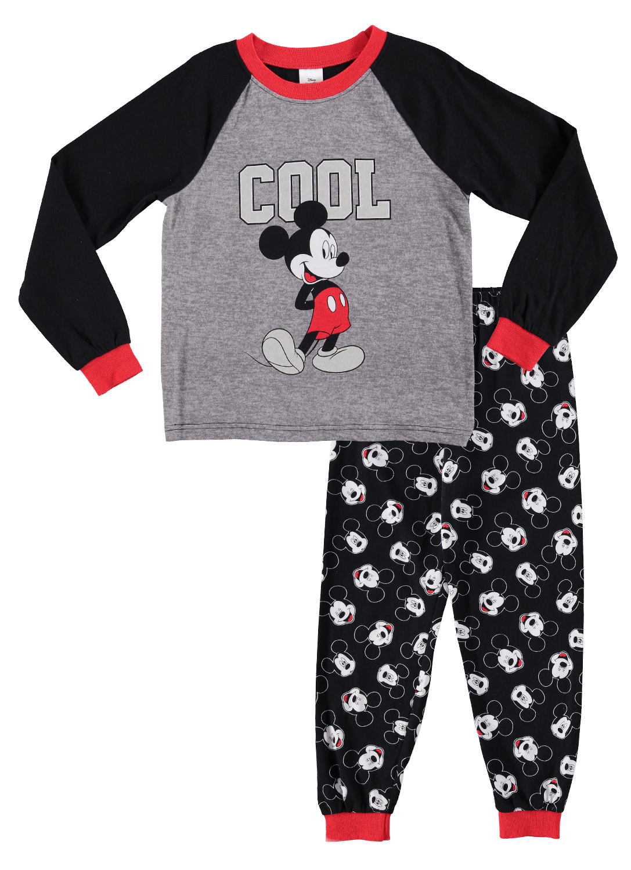 NWT Old Navy Disney Mickey Mouse Rise /& Shine Sleep Set Pajama Set PJ Boys 4T 5T