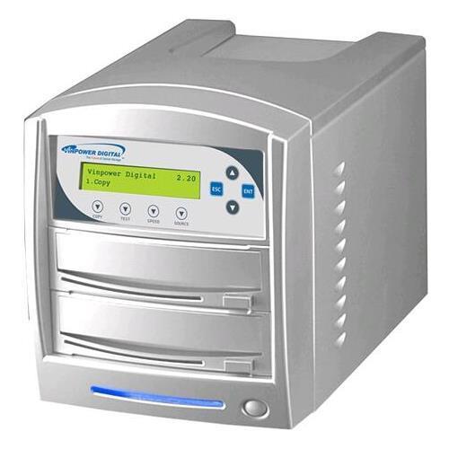 Vinpower Digital SharkNet-1T-DVD-BK SharkCopier 1 to 1 Target Network DVD CD Disc Duplicator Tower Black Color... by Vinpower Digital