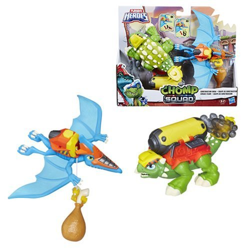 Chomp Squad Playskool Heroes Construction Crew by Hasbro