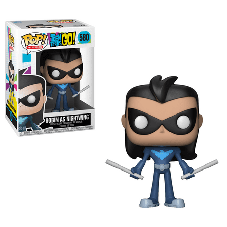 Funko Pop! TV: Teen Titans Go S3 - Robin as Nightwing](Teen Titans Base)