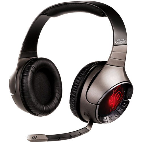 Creative LabsCreative World Of Warcraft 70GH010000000 Headset - Over-the-head - Binaural - Ear-cup - RF - USB- Surround
