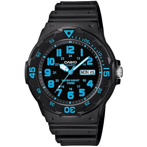 Casio Men's Sport Analog Blue-Accented Dive Watch