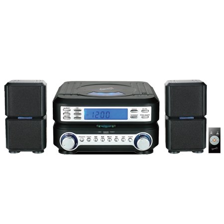 Supersonic Portable Micro System with BT ,CD Player, AUX Input & AM/FM Radio