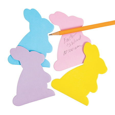 BUNNY SHAPED STICKY NOTEPAD - Stationery - 12 Pieces Heart Shaped Notes Pad