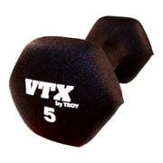 VTX by Troy Barbell 5 lb. Neoprene Dumbbell - Single