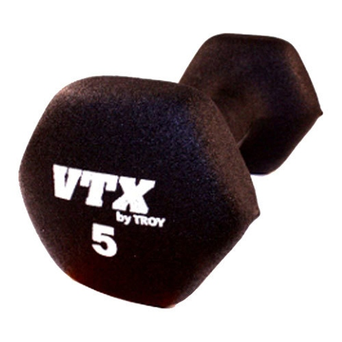 VTX by Troy Barbell 5 lb. Neoprene Dumbbell - Single