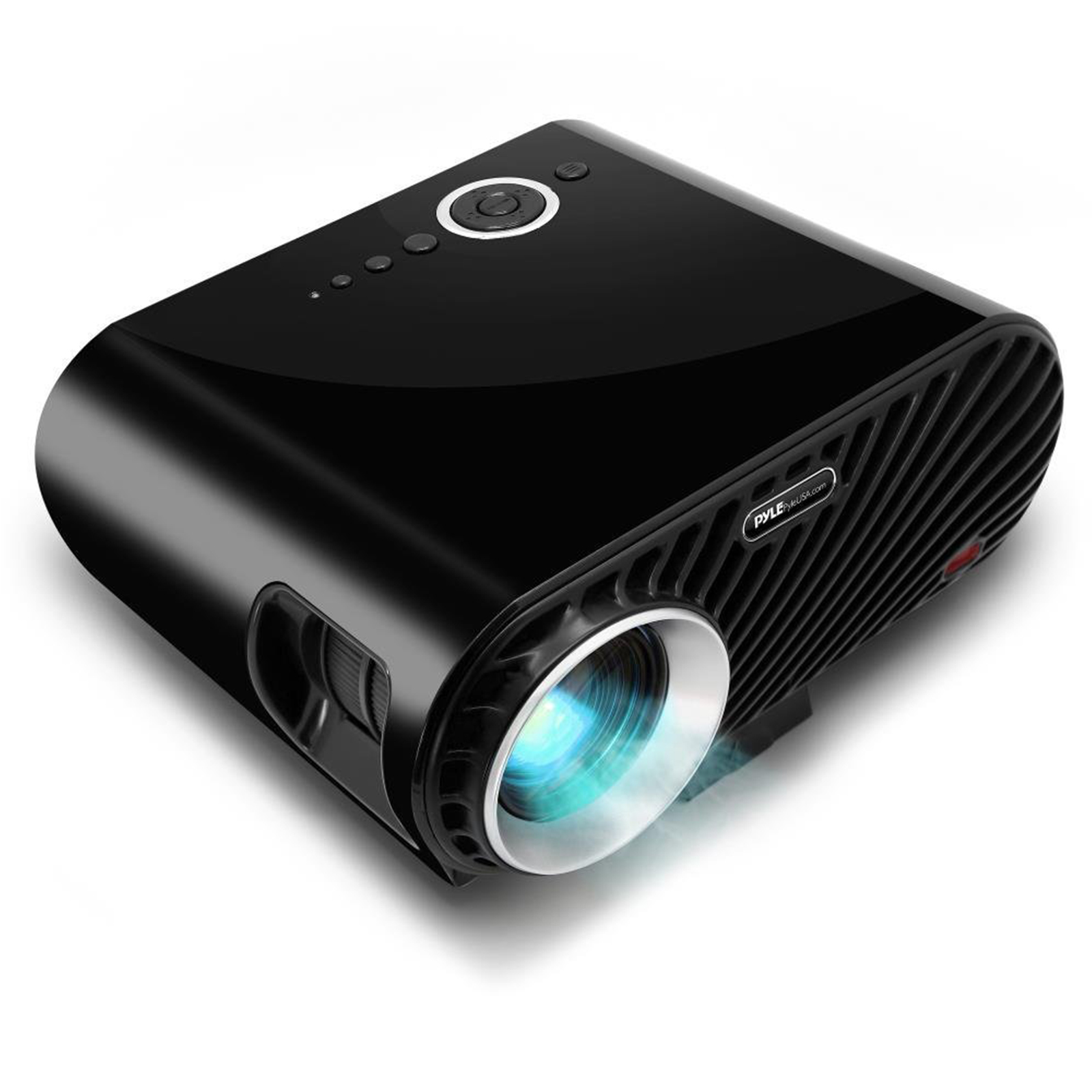 Pyle Portable Multimedia Home Theater Projector - HD 1080p LED with USB HDMI Data System Projection for Entertainment Video Photo Game Full Cinema Movie in your Laptop