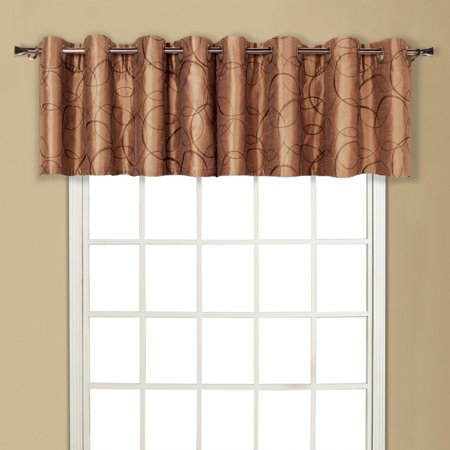 United Curtain Sinclair Window Valance