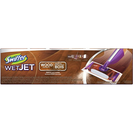 Swiffer Wet Jet Wood Starter Kit Walmart Com
