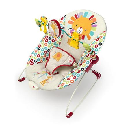 Princess Bouncer - Bright Starts Bouncer Seat - Playful Pinwheels