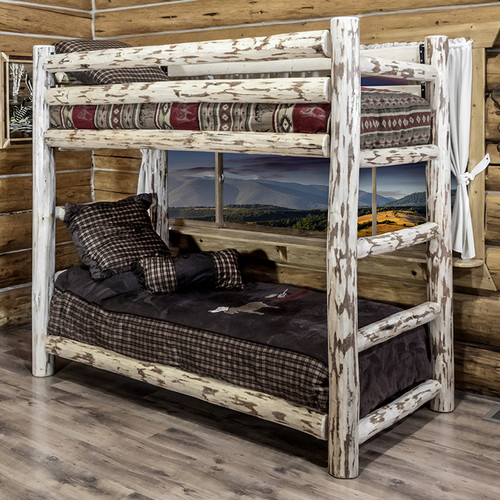 87 in. Twin Bunk Bed