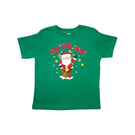 Ho ho ho! Santa Claus is here Toddler T-Shirt - Santa Uniform