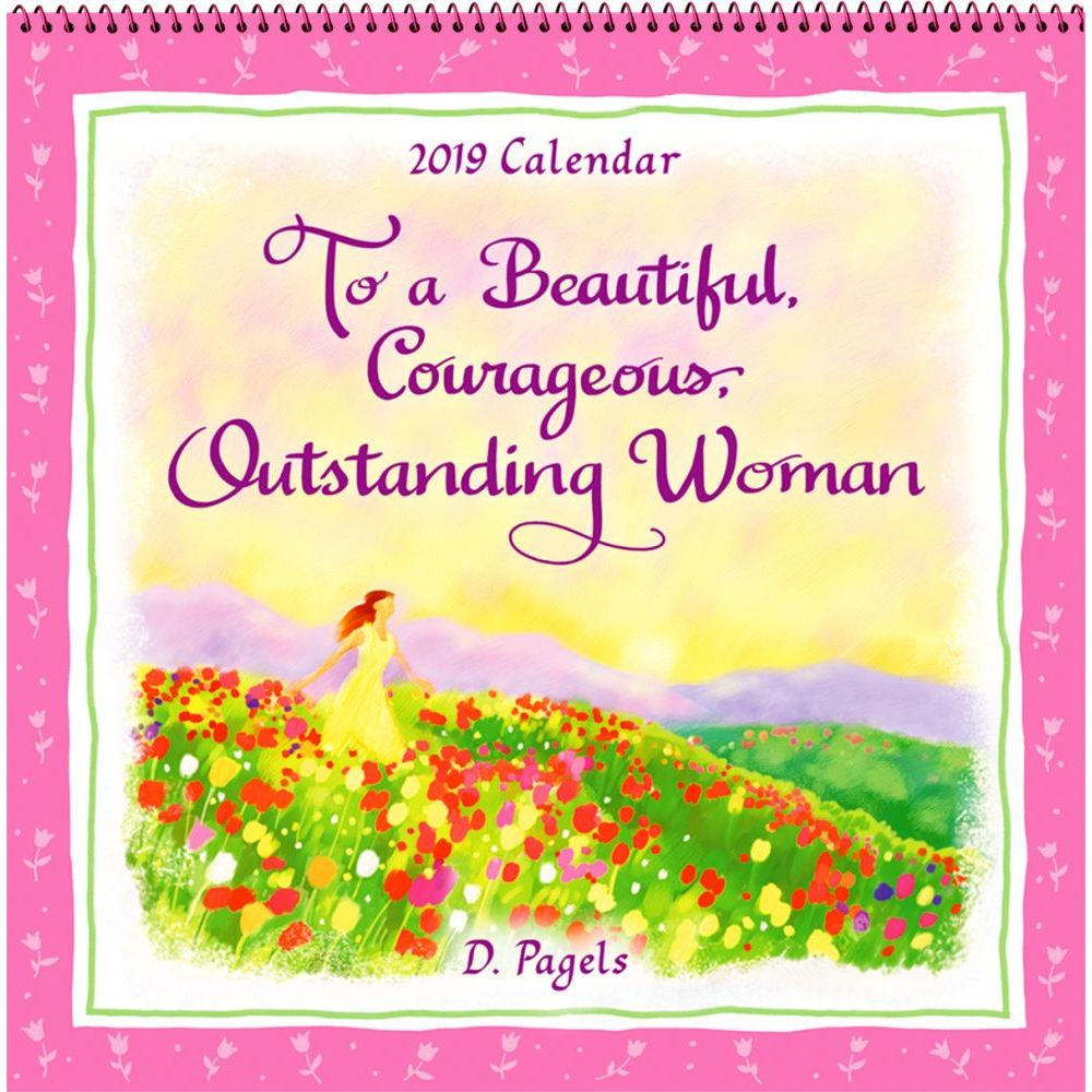 2019 To a Courageous Woman Wall Calendar, More Inspiration by Blue Mountain Arts