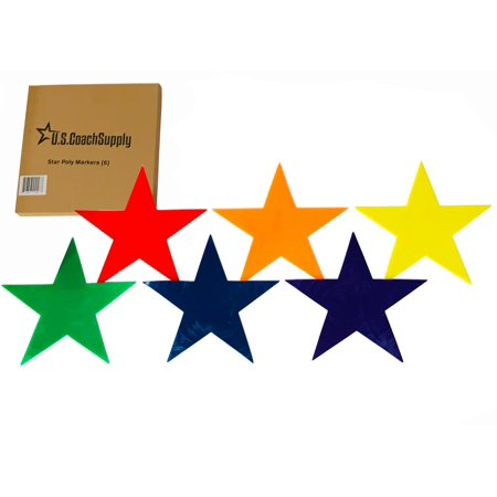 U.S. Coach Supply Poly Star - Poly Spot Markers