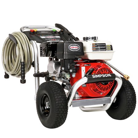 Simpson 60689 Aluminum 3600 PSI 2.5 GPM Professional Gas Pressure Washer with AAA Triplex
