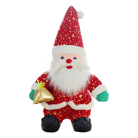 KABOER New Christmas Decorations Elderly  Doll Children's Holiday Gift Shopping Mall Window (New Haven Mall Shopping)