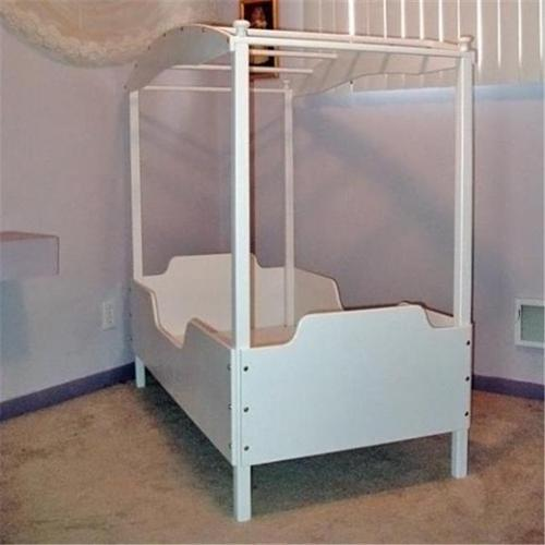 Just Kids Stuff Jasmine Canopy Bed White