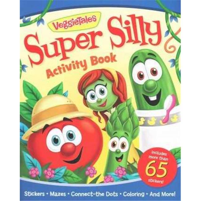 Ideals & Worthy 986729 Activity Book-Veggie Tales Super Silly Activity Book by