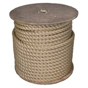 3 Strand Twisted ProManila Polypro Rope - Sizes range from 1/4 Inch - 2 Inch Diameters - 10-600Ft Lengths