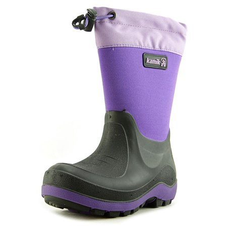 a3feaa07 Kamik - Stormin 2 Youth Round Toe Synthetic Purple Winter Boot - Walmart.com