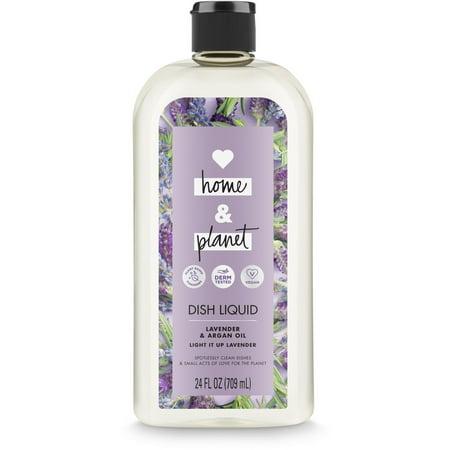 Dish Soap Apron (Love Home and Planet Dish Soap Lavender & Argan Oil 24 oz )