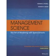 Management Science : The Art of Modeling with Spreadsheets