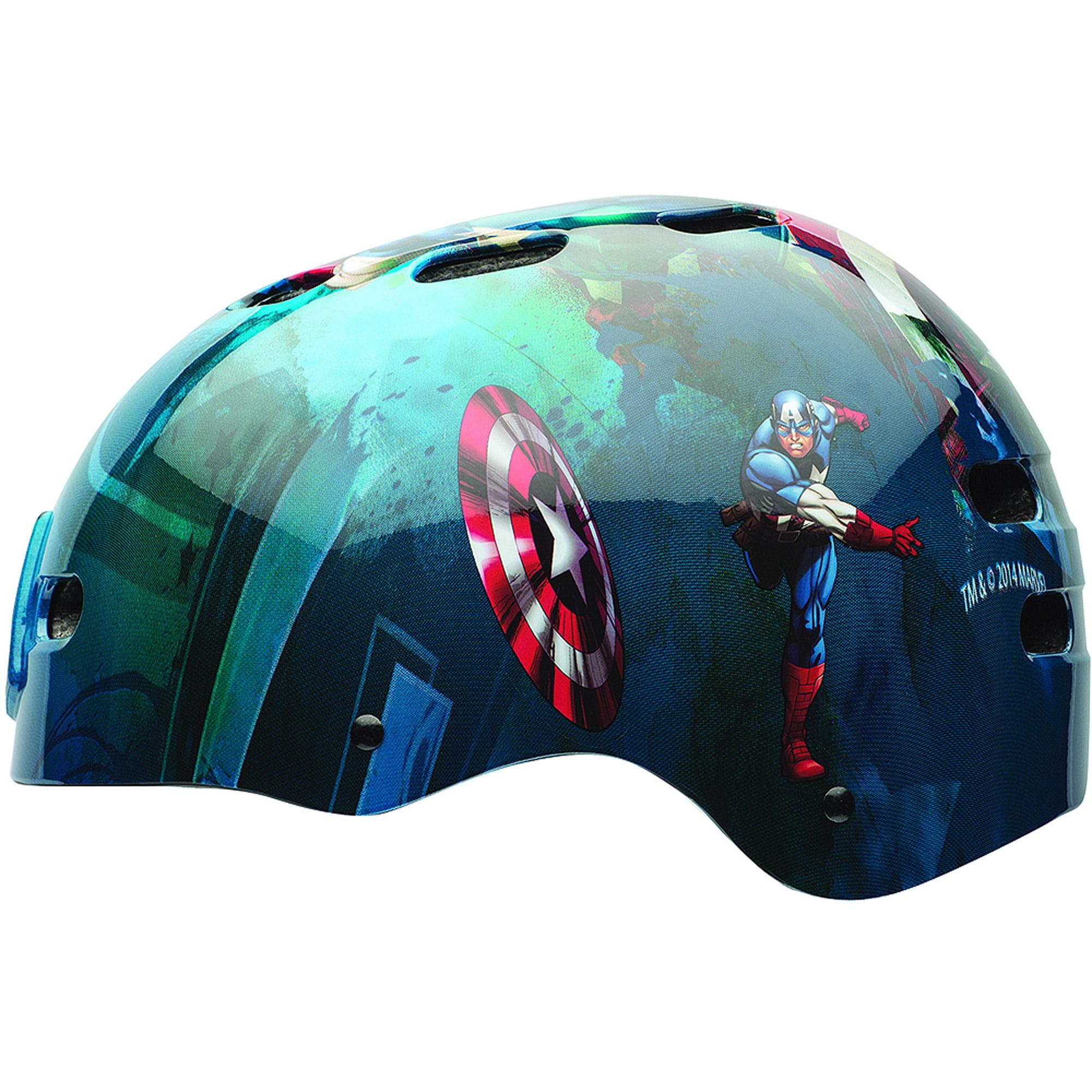 Bell Sports Captain America The First Avenger Multisport Helmet, Blue