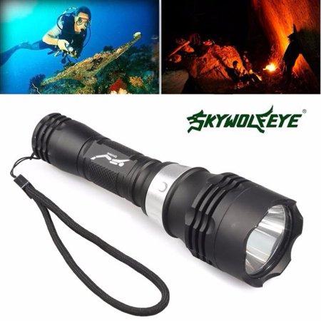5000 Lumen 60m CREE T6 LED Diving Torch Scuba Light Lamp Waterproof (8 Dive Lights)