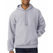 Weatherproof 7700 Adult Cross Weave Hooded Sweatshirt - Heather, 2XL