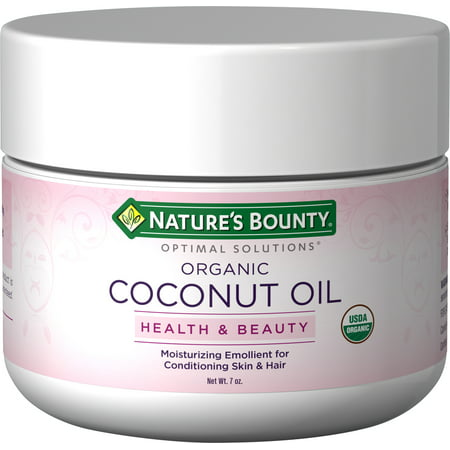 Nature's Bounty Optimal Solutions Health & Beauty Organic Coconut Oil, 7