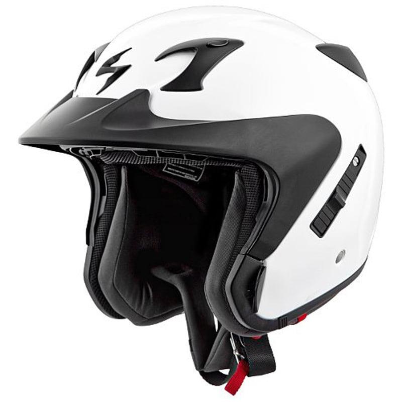 Scorpion EXO-CT220 Helmet, Solid White, Size:3XL