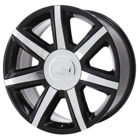 CADILLAC ESCALADE 2005 - 2020 GLOSS BLACK Factory OEM Wheels Rims (Not Replicas) 2000 Cadillac Escalade Wheel