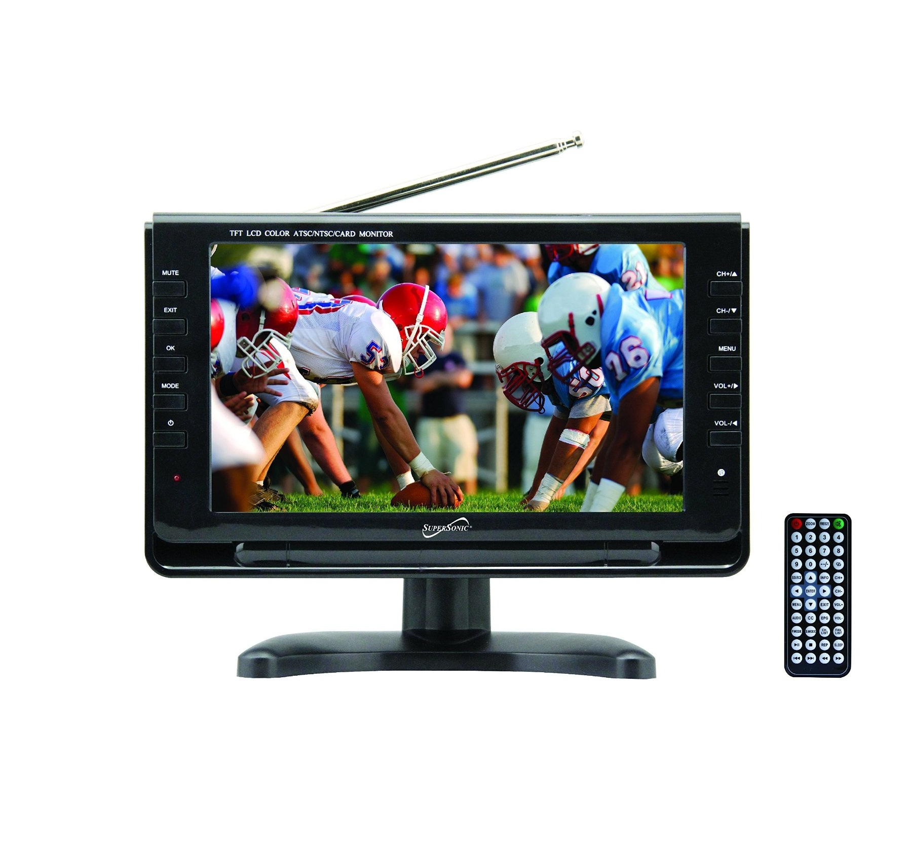 "Supersonic 9"" Portable LCD TV SC-499"