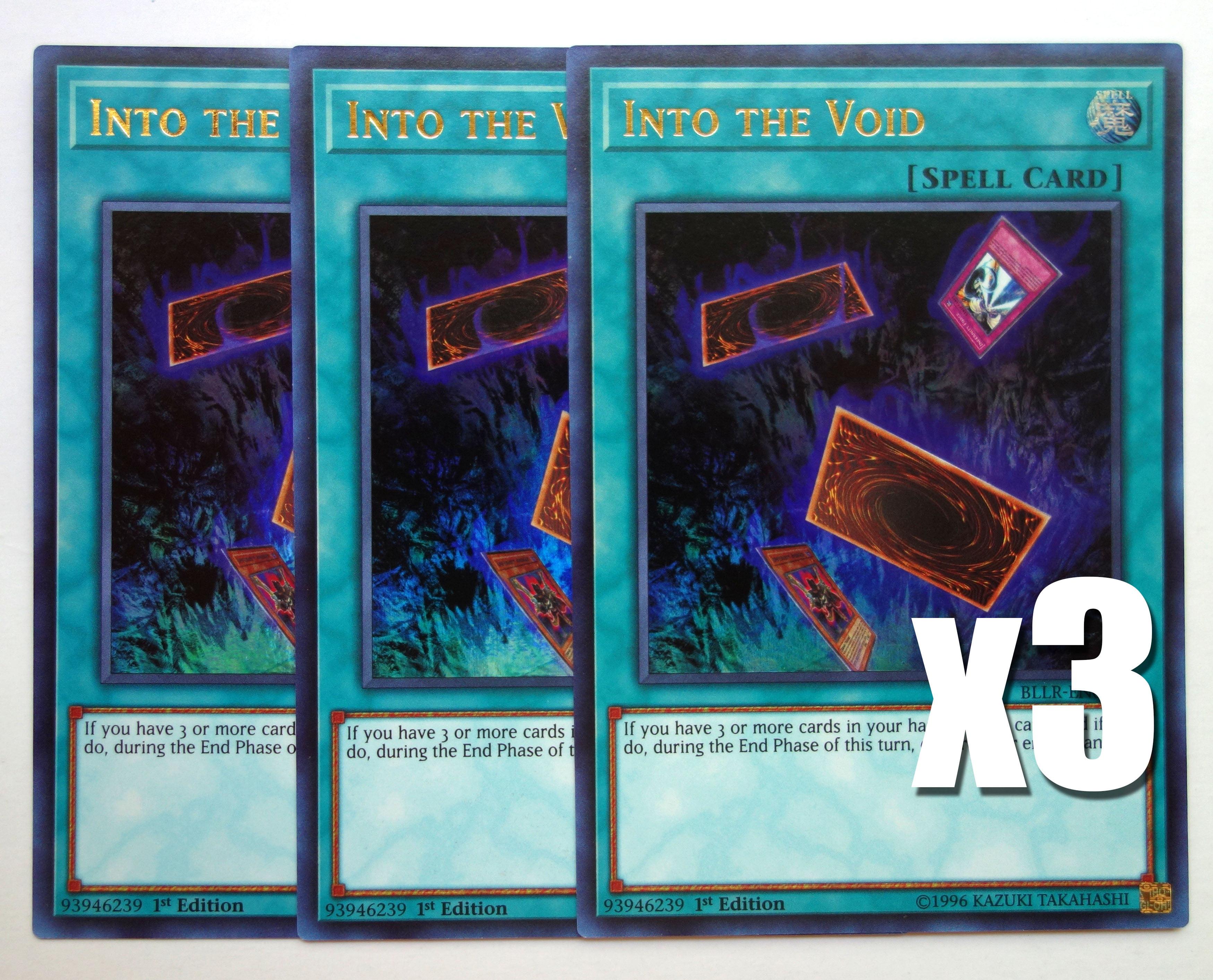 YuGiOh Into the Void Ultra Rare 1st Edition BLLR-EN074 NM