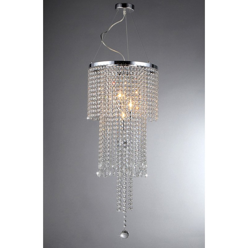 Warehouse of Tiffany RL9271 Cascading Crystal Pendant Light